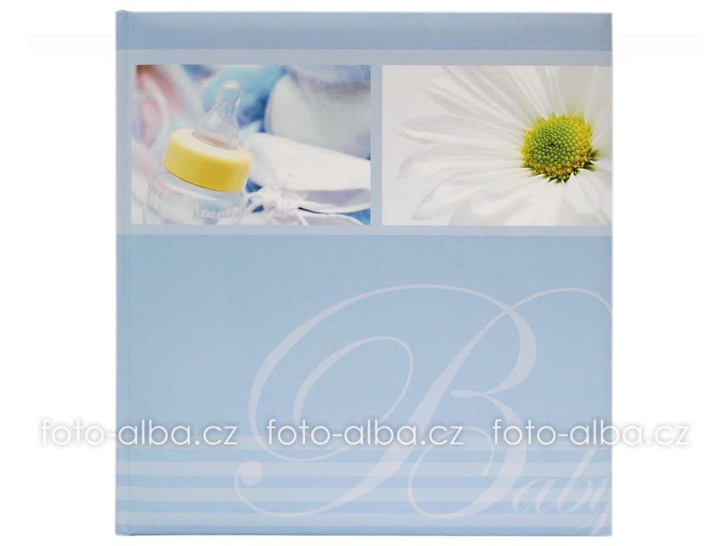 foto-album baby modré goldbuch
