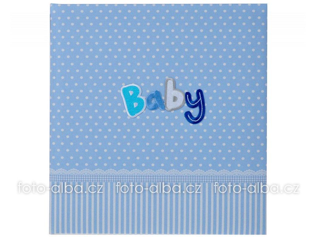 fotoalbum baby modre goldbuch