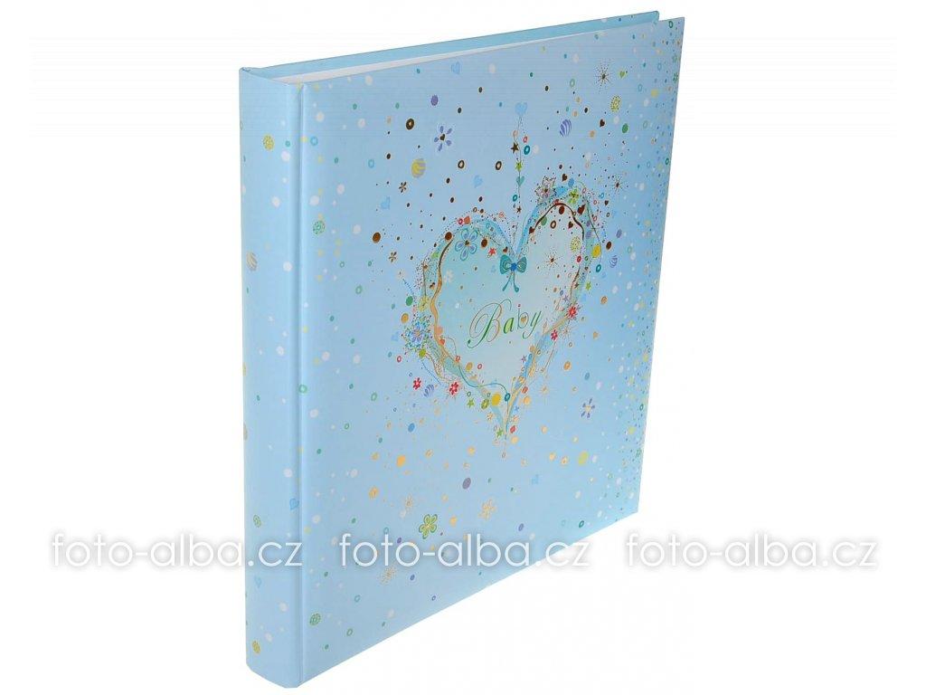 detske fotoalbum modre srdce
