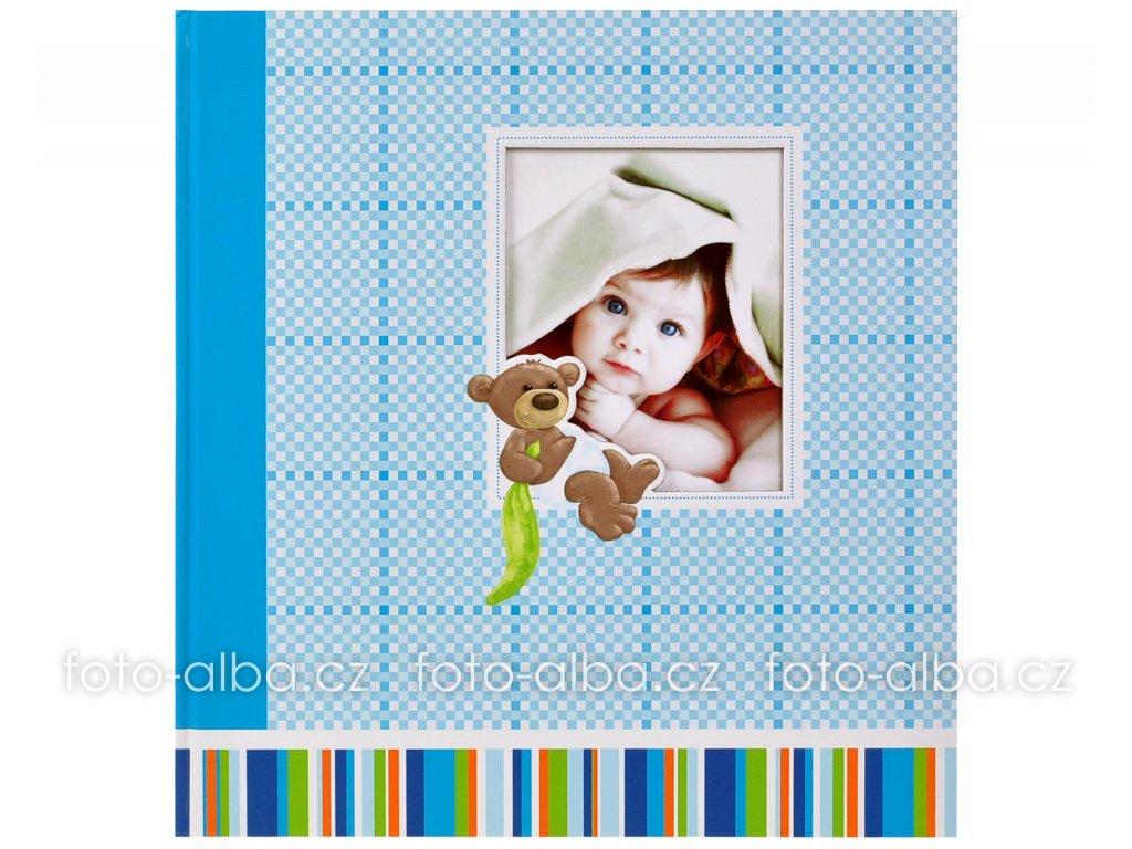 fotoalbum chlapecek s medvidkem