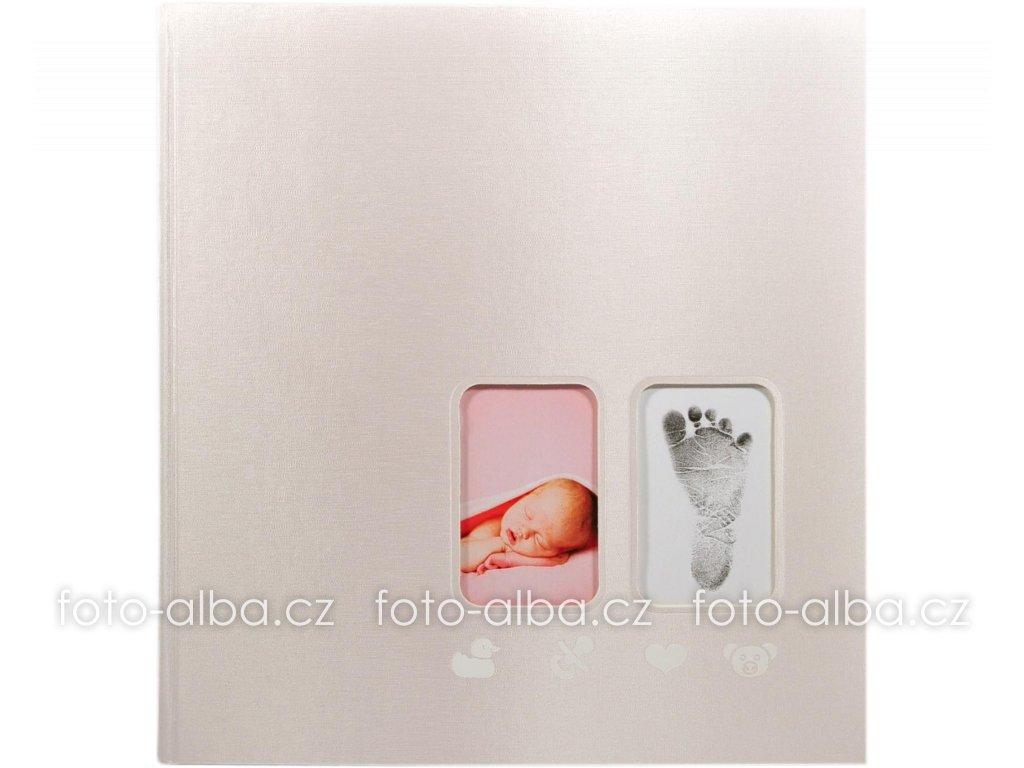 foto-album první krůčky růžové goldbuch