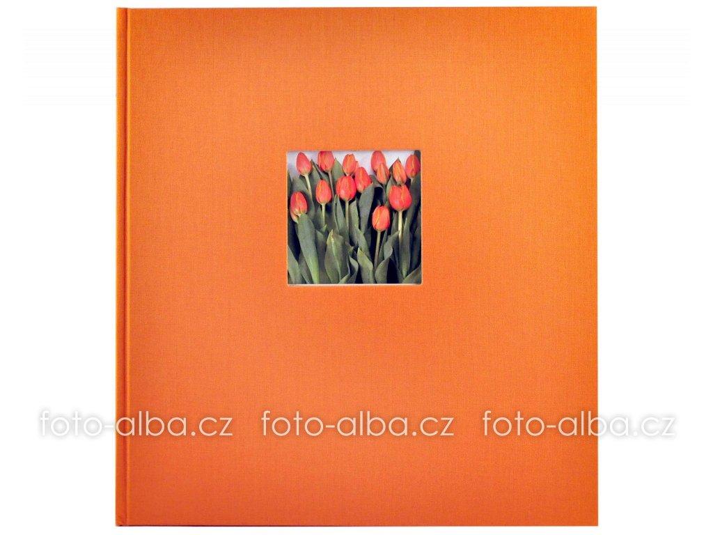 fotoalbum goldbuch oranzove černe listy