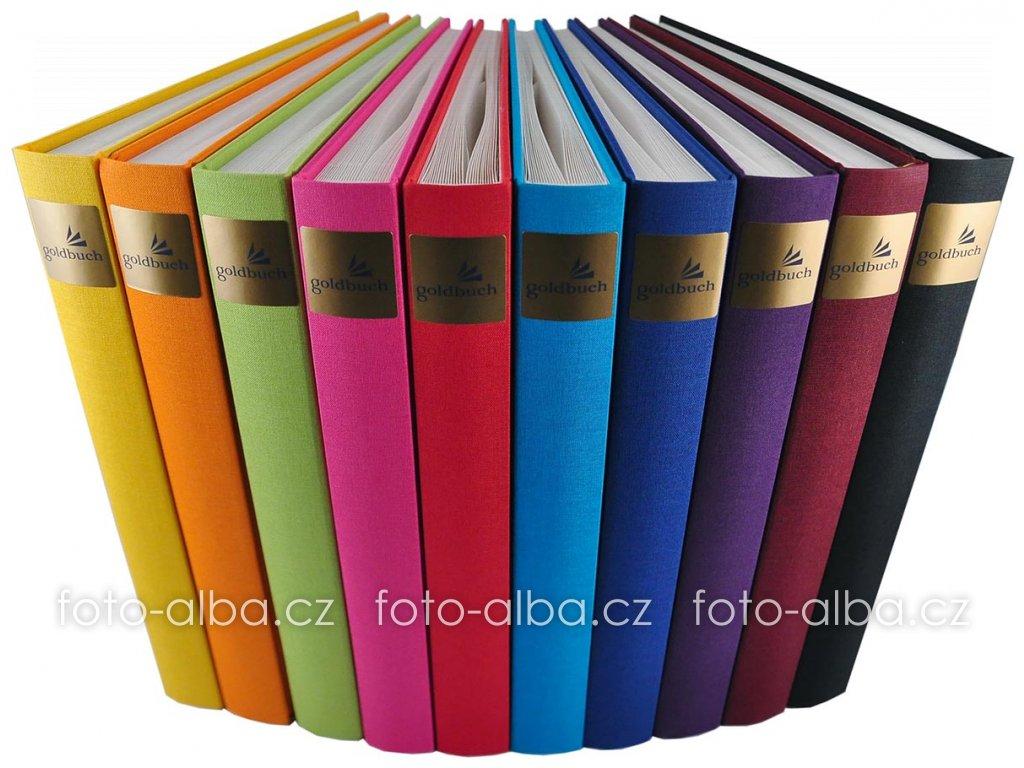 foto-album bella vista goldbuch zlute