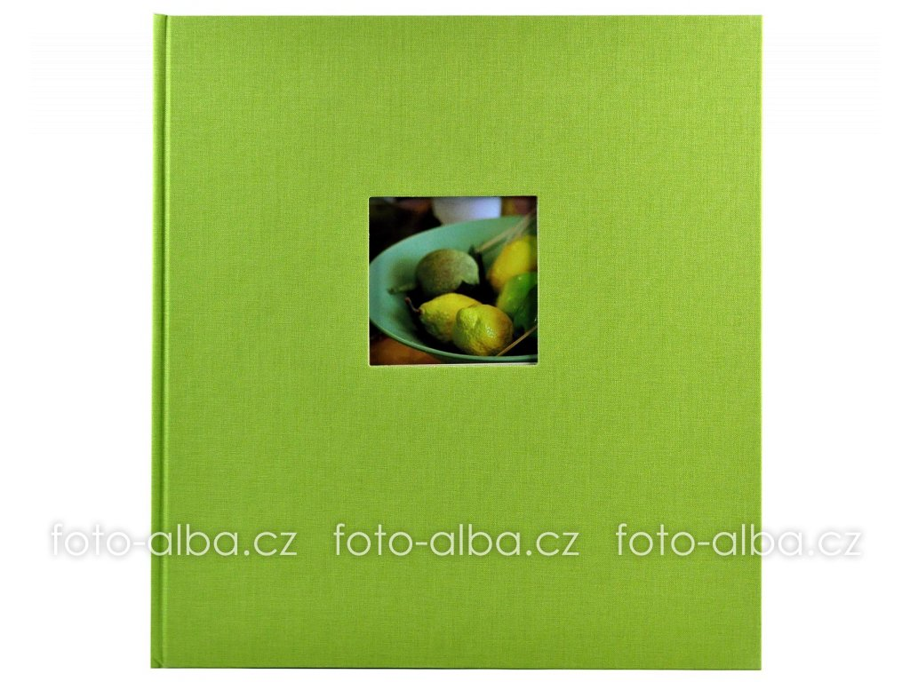 fotoalbum bella vista zelené