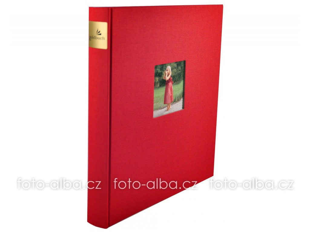 Fotoalbum bella vista červené