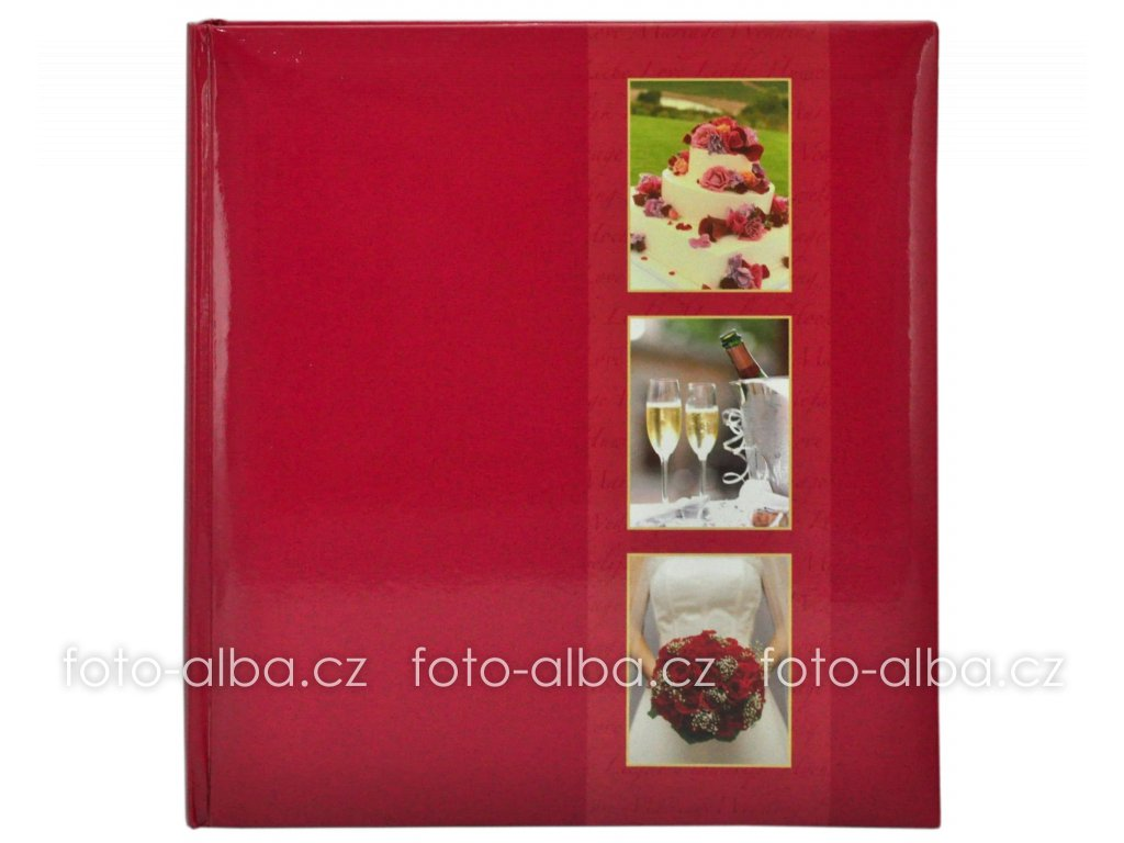 svatební fotoalbum fiesta goldbuch