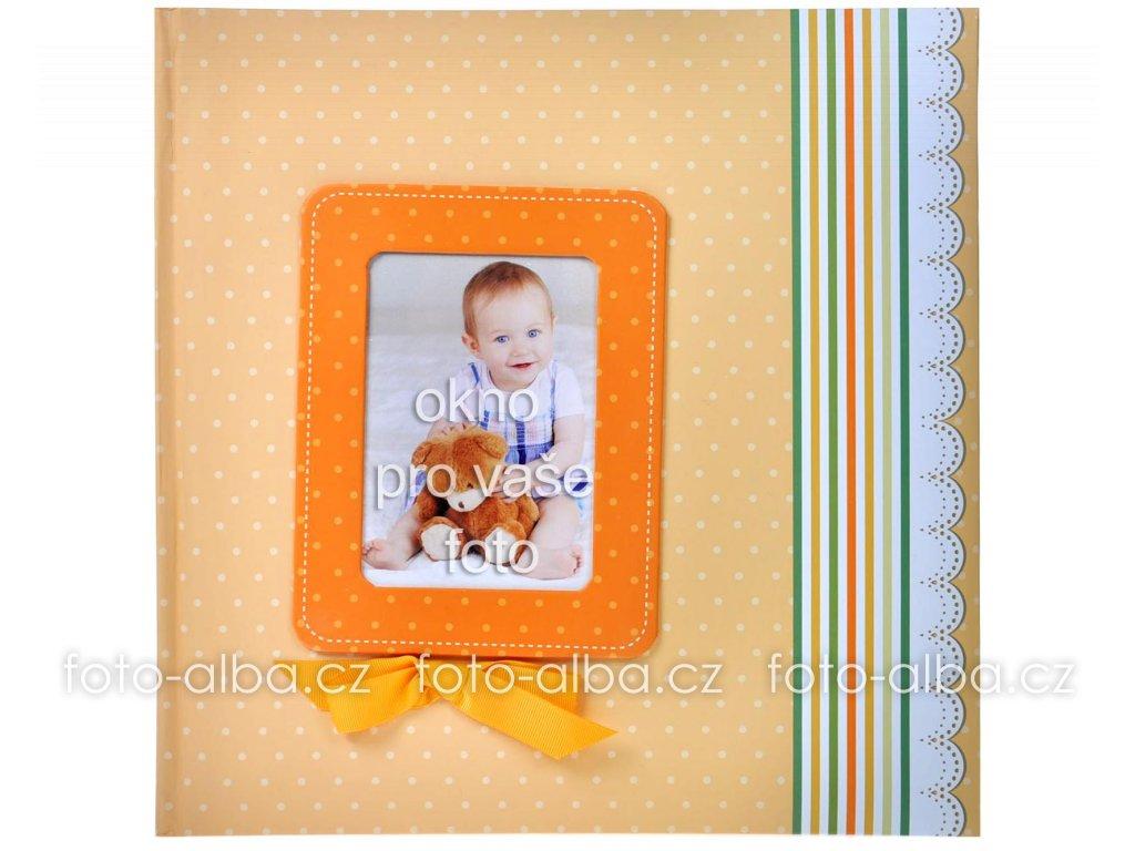 foto-album oranžová stuha