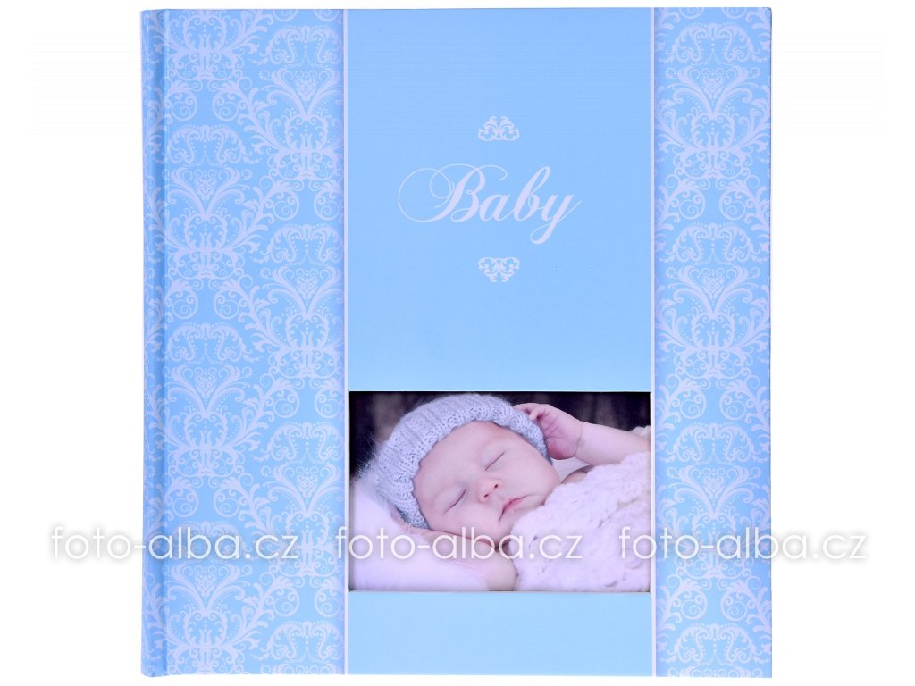 detske fotoalbum spac modre