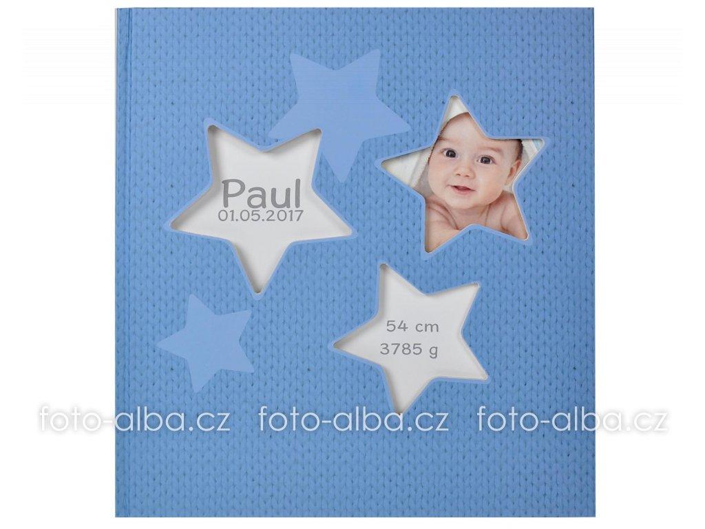 klalsicke fotoalbum hvezdy modre