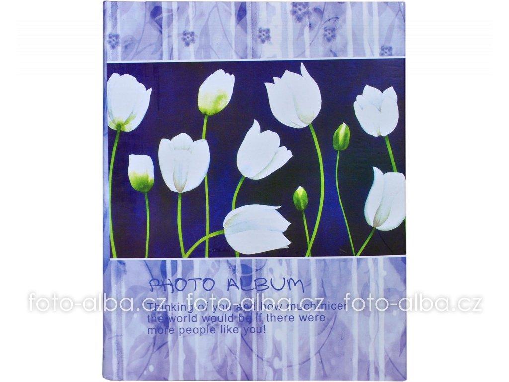 fotoalbum bílé tulipány
