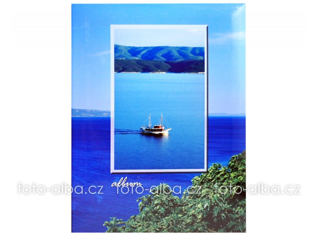 foto-album moře