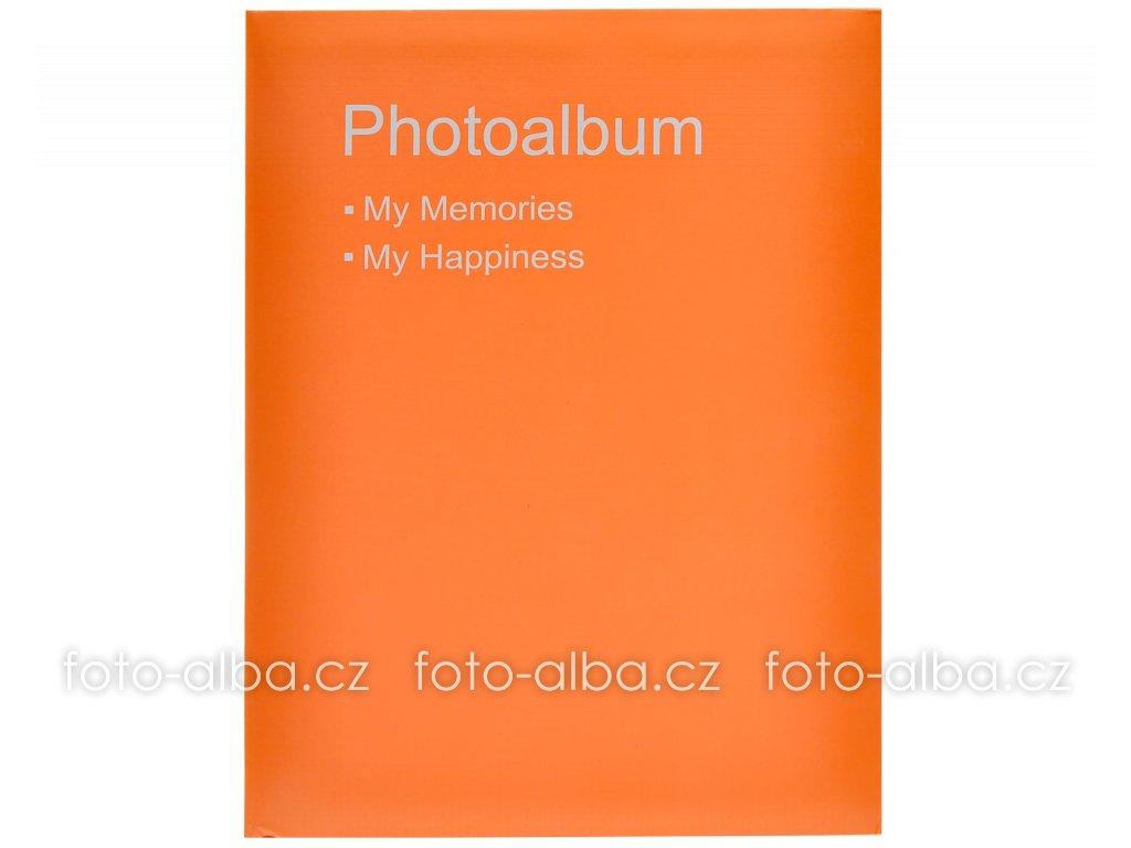 fotoalbum 10x15 conception oranzove