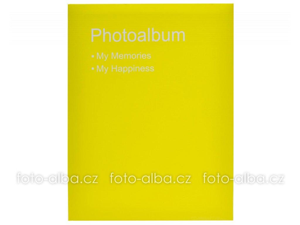 fotoalbum 10x15 conception zlute