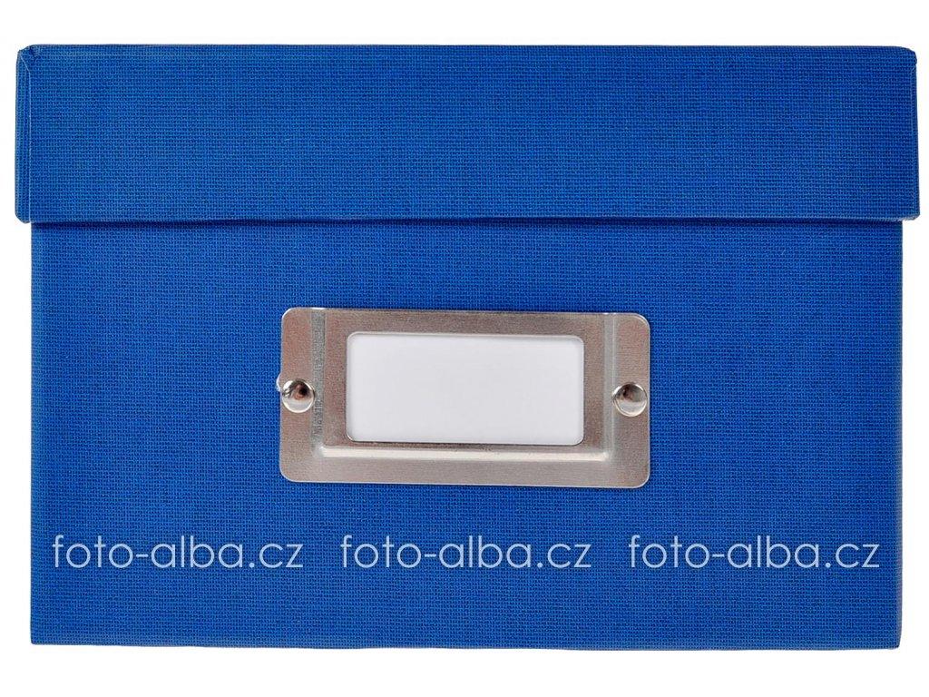 bella vista box na fotky modry