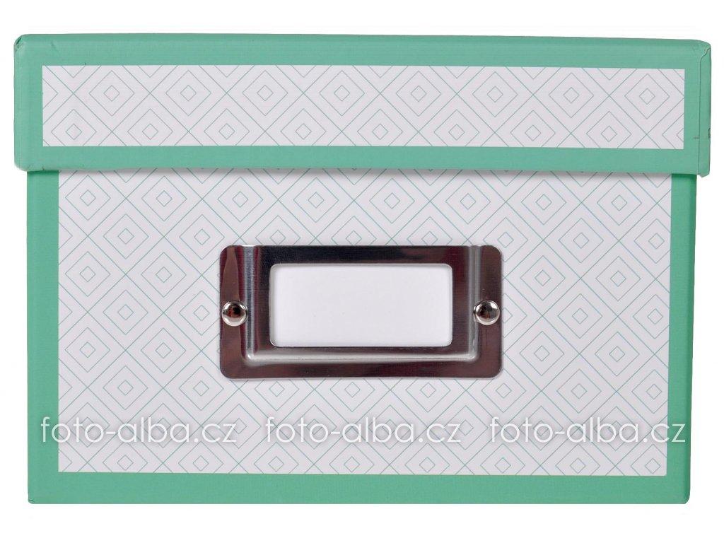 krabice na fotky goldbuch zelená