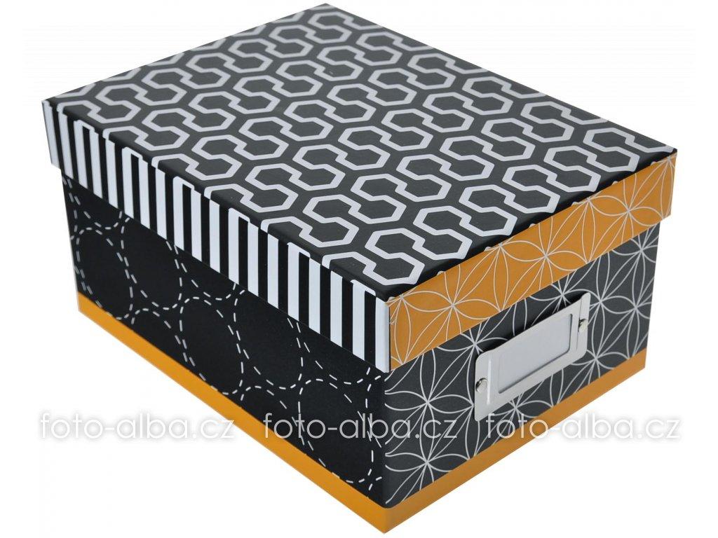 goldbuch offline fotobox černožllutá