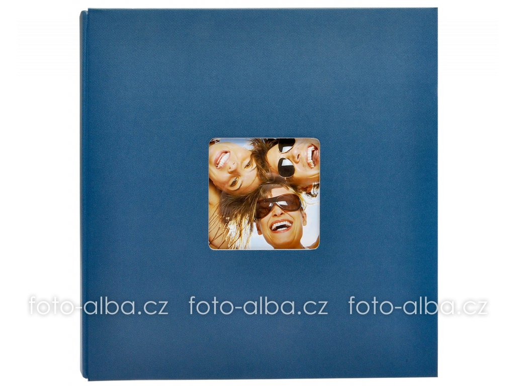 fotoalbum fun 400foto modre