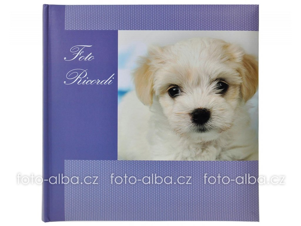 klasické foto-album štěně