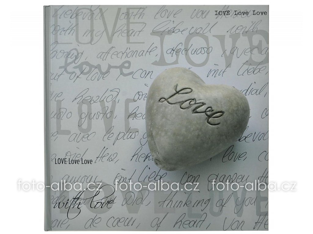 fotoalbum walther love srdce