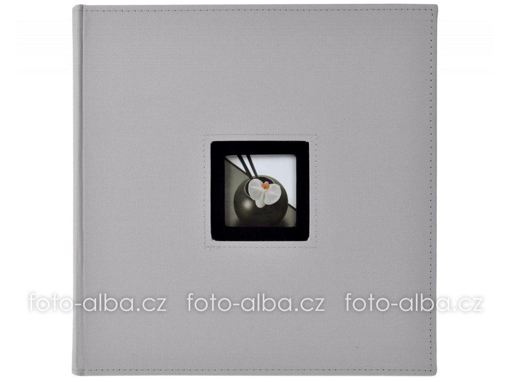 fotoalbum walther šedé klasické