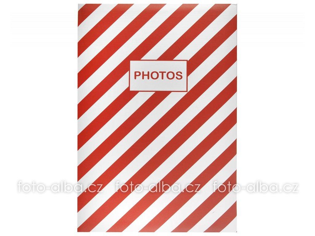 fotoalbum mainstream 400 cervene
