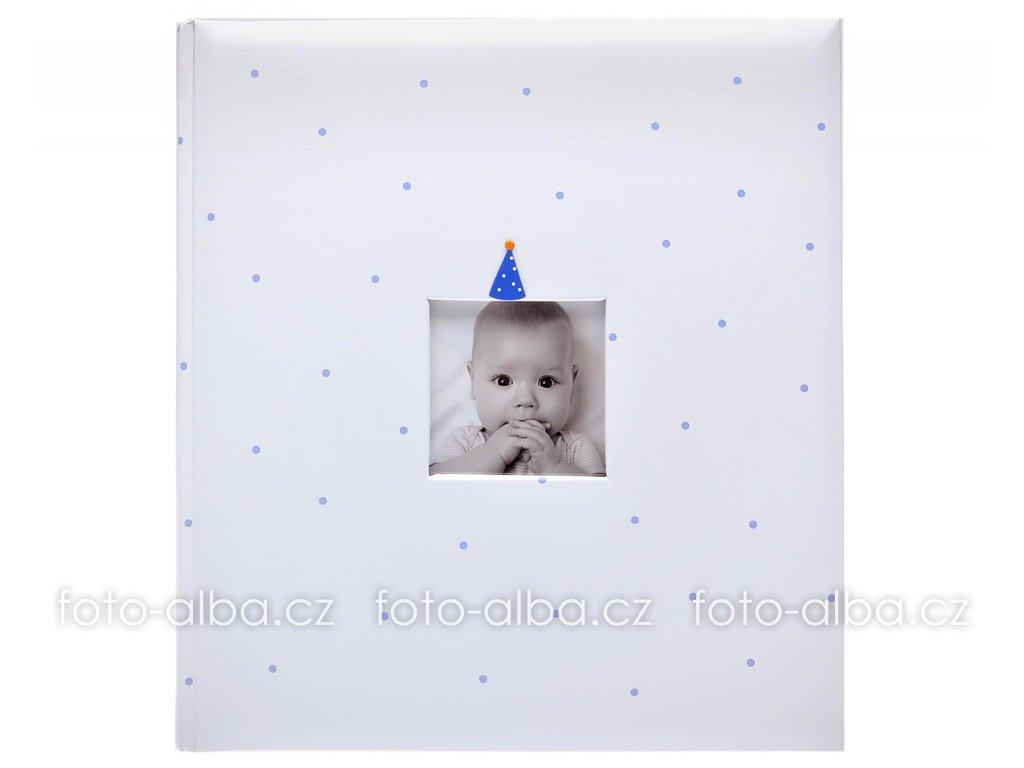 fotoalbum baby clown modre