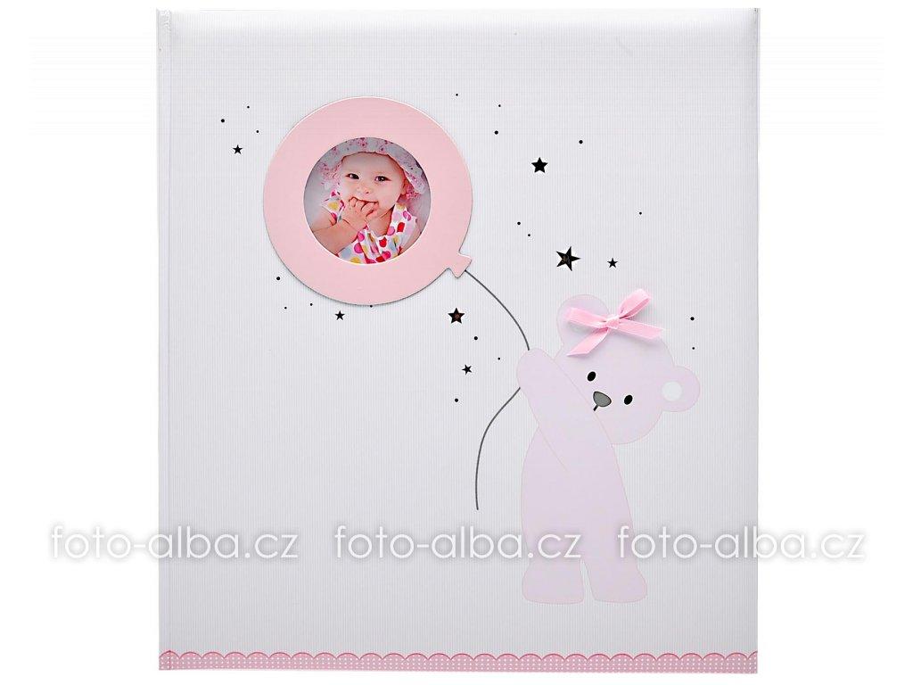 album baby baloon ruzove