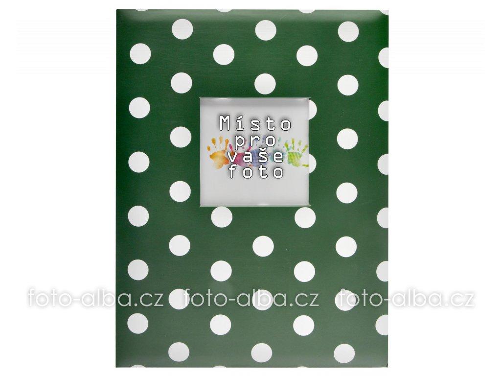 fotoalbum dots 200 zelene