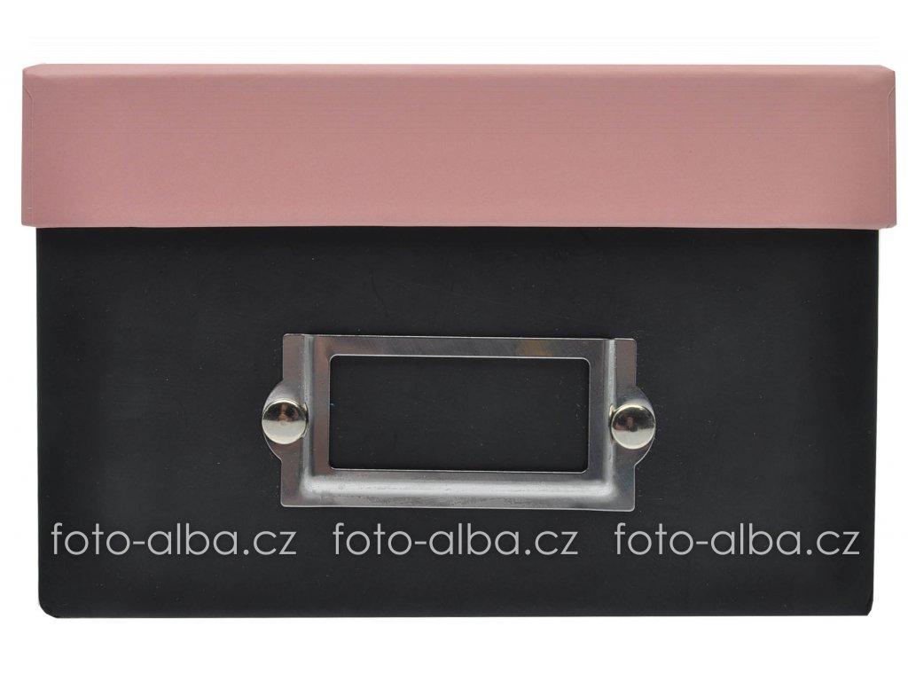 fotobox camera ruzovy