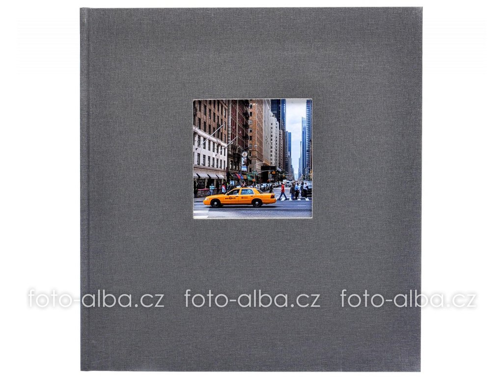 Fotoalbum bella vista šedé