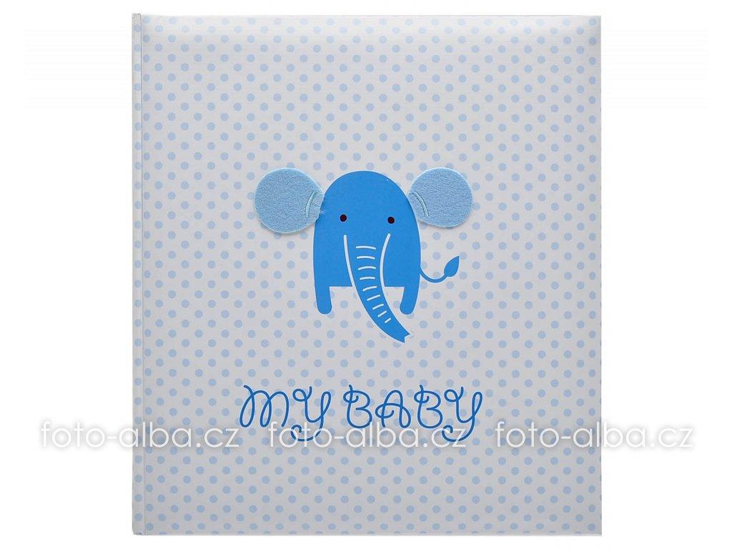 Fotoalbum elefant modré
