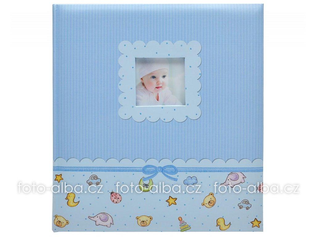 Klasické album young baby modré