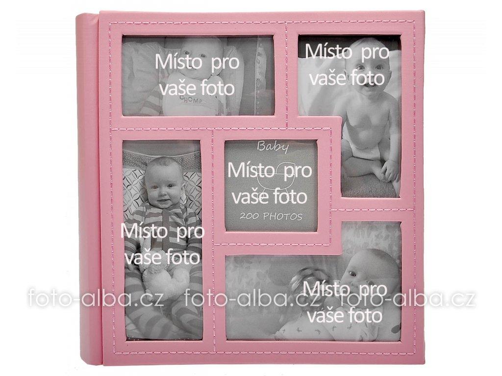 album baby vision růžové