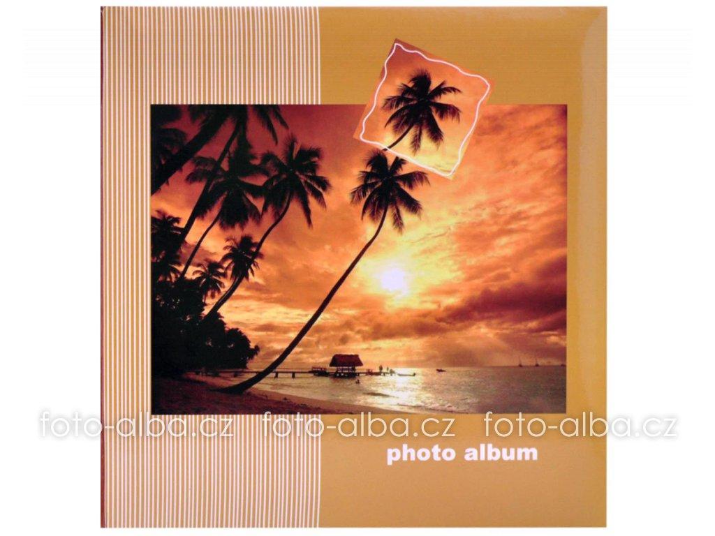 fotoalbum západ nad pláží
