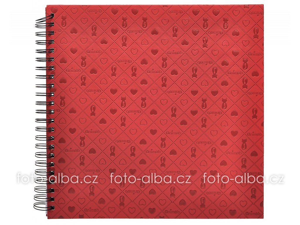 Fotoalbum Le Clou červené