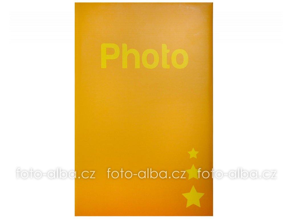 fotoalbum 400 foto zlute
