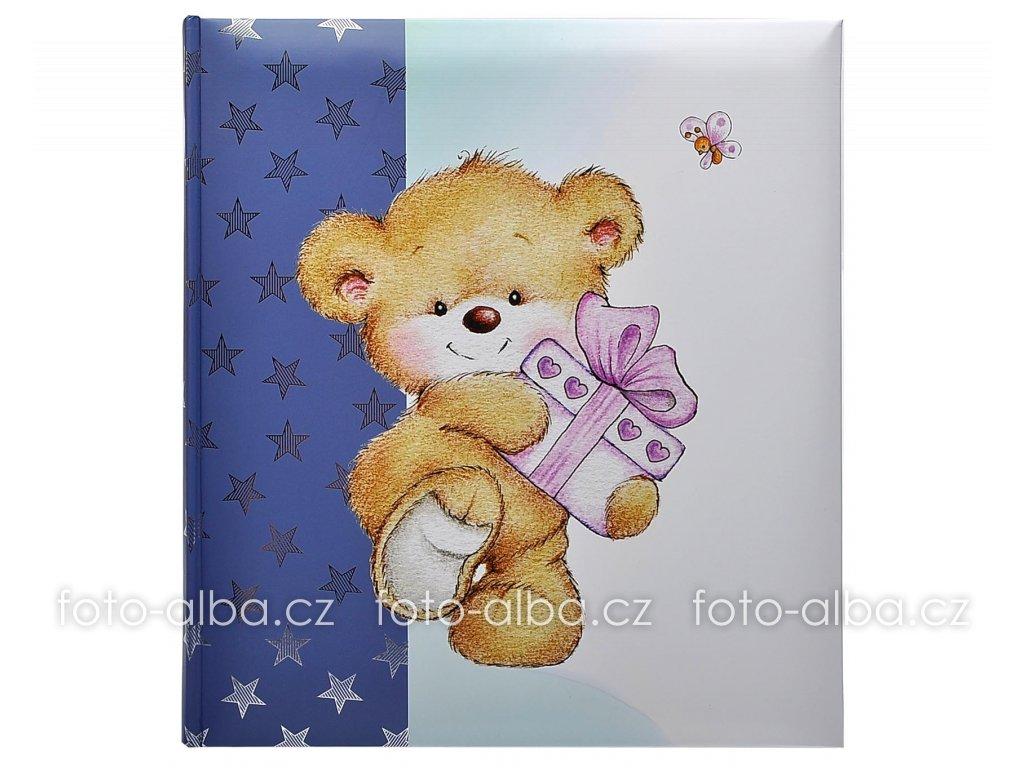 Album baby gift box modré