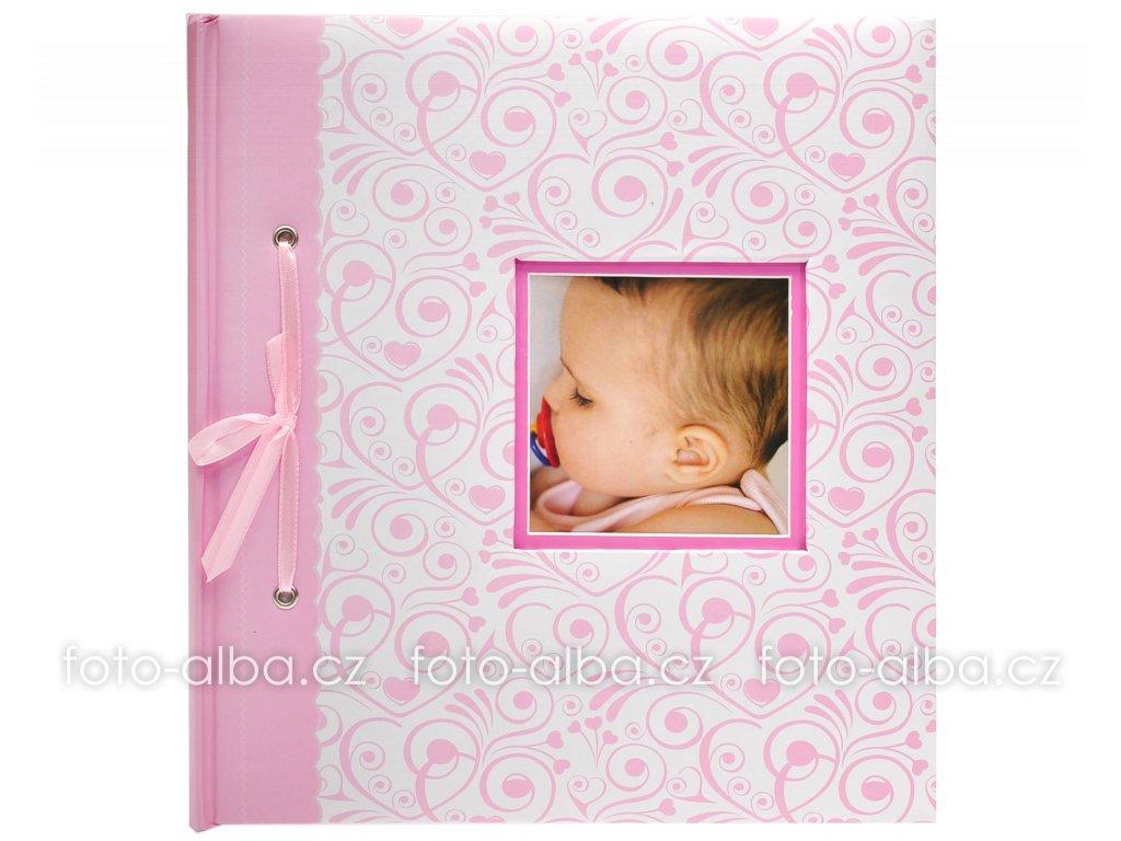 Fotoalbum bambino růžové