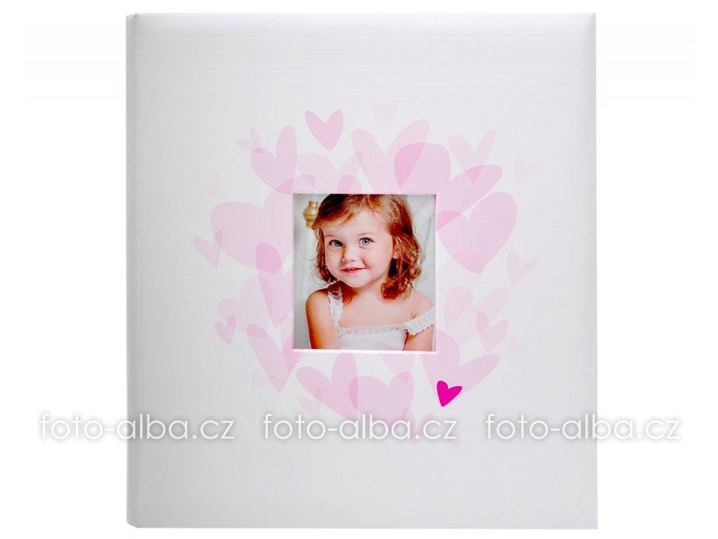 fotoalbum babys růžové