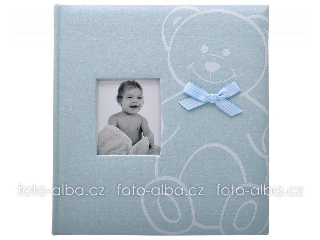 fotoalbum baby bear modré