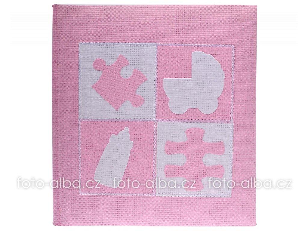 fotoalbum baba puzzle ruzove kopie