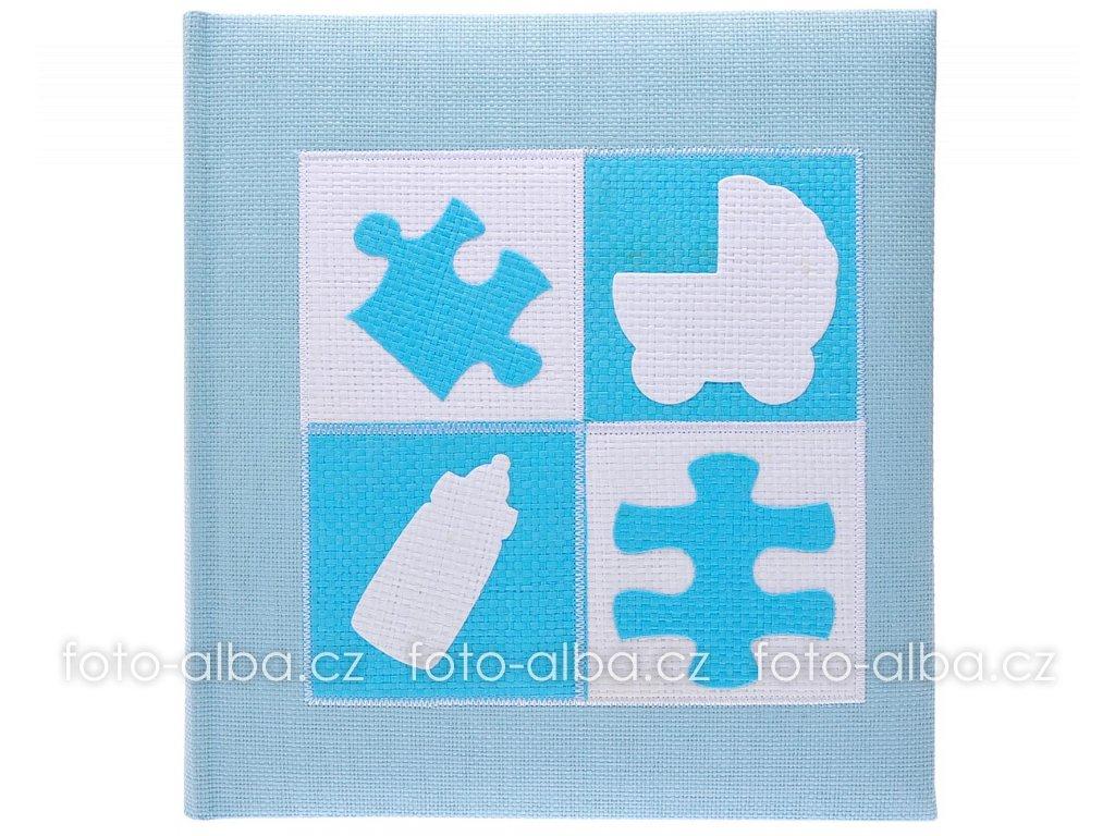 fotoalbum baba puzzle modre kopie