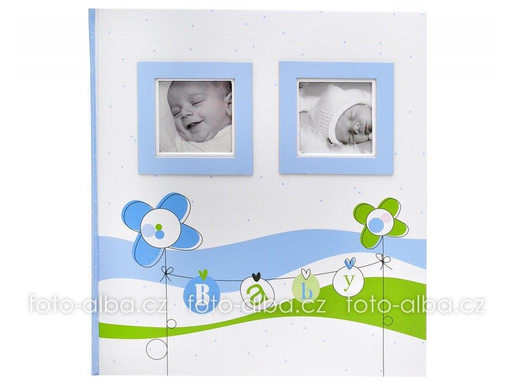 fotoalbum lucky baby modre kopie