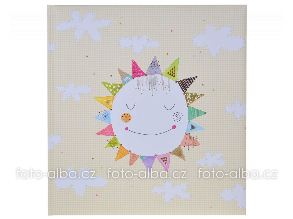 klasické fotoalbum happy sun