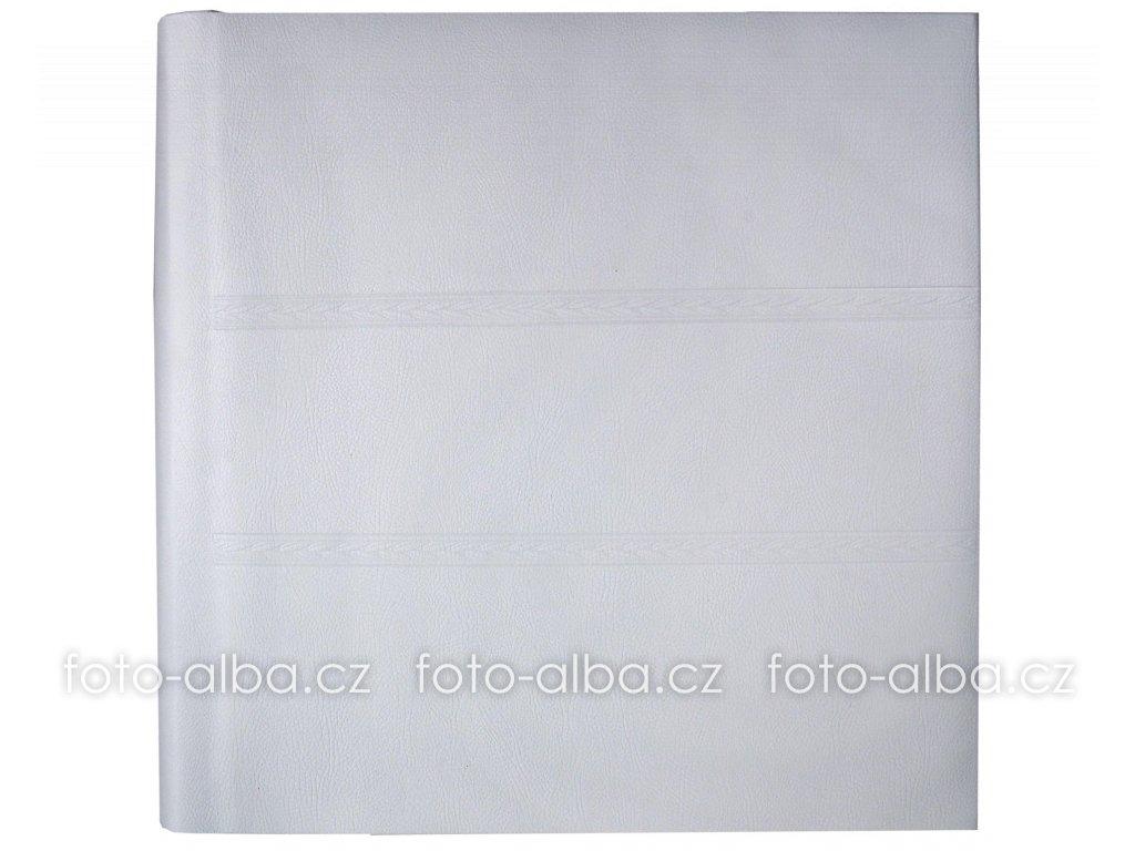 Fotoalbum bílá kůže klasické