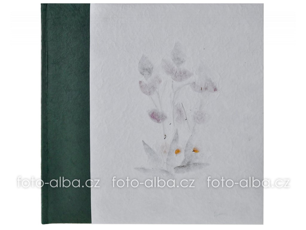 fotoalbum klasické manila zelene