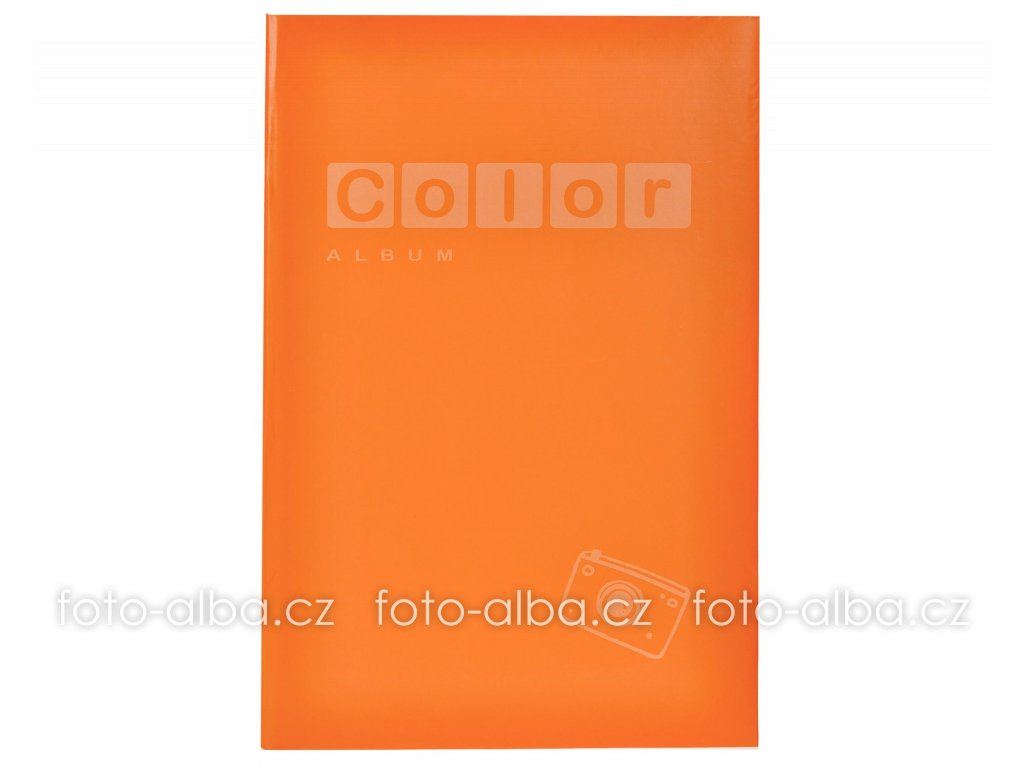 fotoalbum color oranzovy