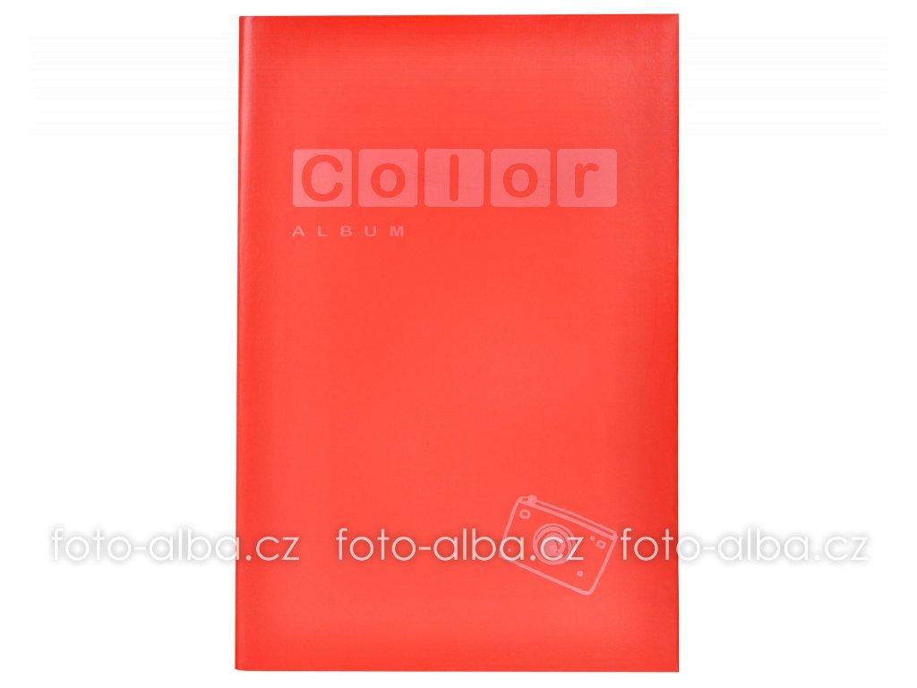 fotoalbum color cerveny 400 10x15