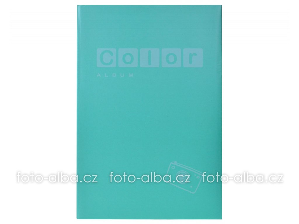 fotoalbum color zeleny 400 10x15
