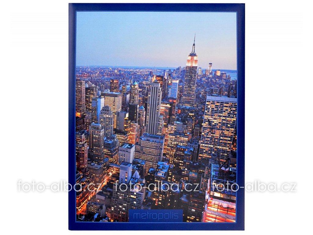 fotoalbum metropolis modre 13x18